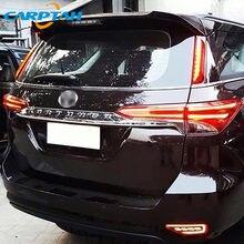 2 pezzi per Toyota Fortuner 2015 - 2018 2019 LED fendinebbia posteriore auto LED paraurti luce freno indicatore di direzione riflettore