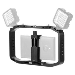 Image 5 - BGNing DSLR Video Rig Cage Handheld Smartphone Vlog Stabilizer Camera Cage for Gopro 8 7 6 for XiaoYI EKEN Sport Camera
