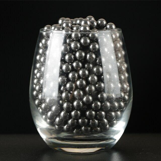 Ru stock 500pcs steel balls 8mm slingshot balls for hunting shooting practice outdoor sports 2