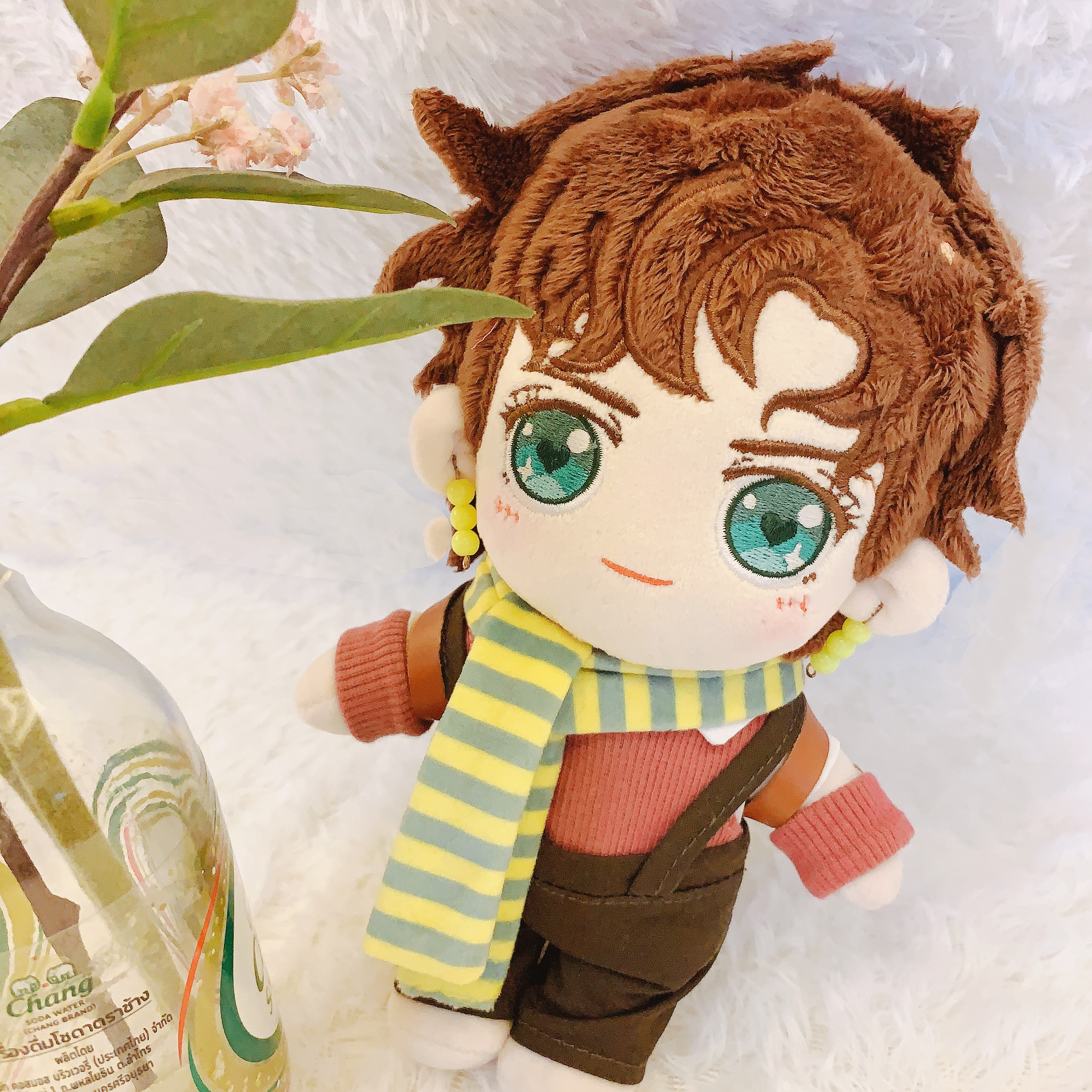 JoJo/'s Bizarre Adventure Jonathan Joestar Cosplay DIY Change Plush Dolls Plushie