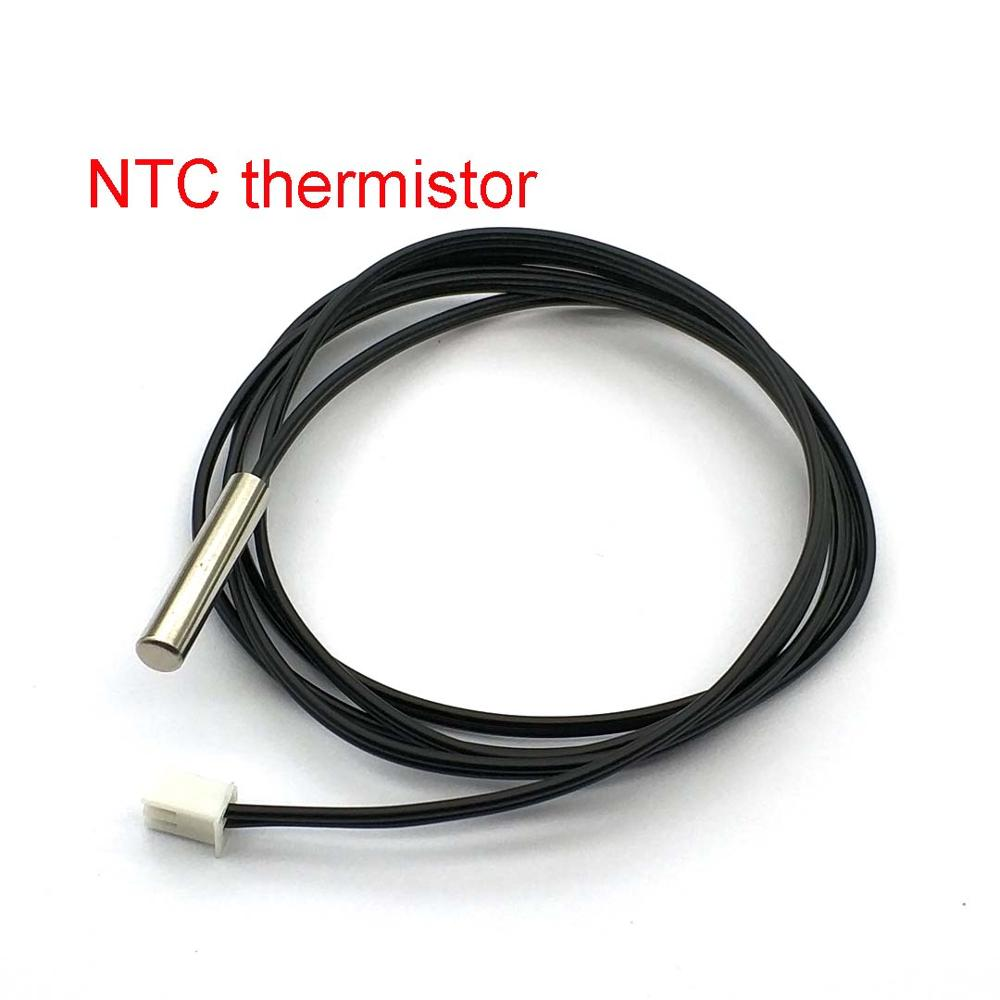Fio impermeável 5k 10k 20k 50k 50k 100k 1% 3950 b3470 5k * 25mm 1m do sensor de temperatura do termistor de ntc