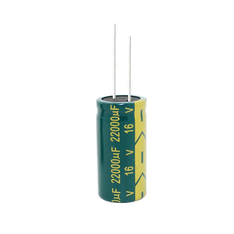 1pcs/lot High Frequency Low Impedance High Quality 16V 22000UF 18*40  Aluminum Electrolytic Capacitor 22000uf 16v 20%