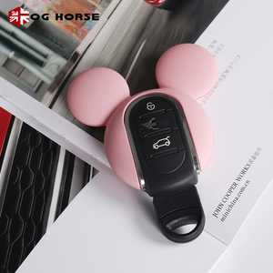 Image 5 - Car Keychain Decoration Fashion Women Key Case Cover Hello Kitty Miky Styling Accessories For MINI Cooper S F54 F55 F56 F57 F60