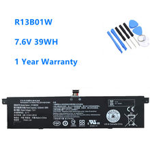 R13b01w r13b02w bateria do portátil para xiaomi mi ar 13.3