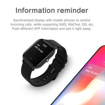 LIGE New P8 1.4 inch Full Touch Women Digital Watches Waterproof Sports For xiaomi iPhone Multifunctional  Electronic Watch Men 2
