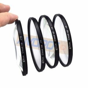 Image 3 - 40.5mm~49mm/62mm/67mm,86mmMacro Close Up +1 +2 +4 +10 Macro Close Up Filter Kit for Canon Nikon Sony Pentax Fujifilm Camera Lens