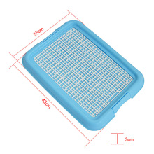 Mesh Grid Flat Column Pet Dog Toilet Dogs Training Toilet Tray Mat Easy Cleaning TB Sale