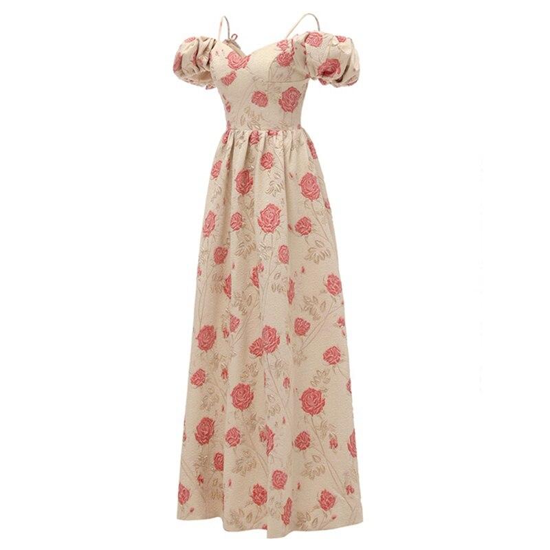 Cap sleeve off spalla di brevetto da sera in raso formale abito del partito del vestito da promenade 2019 - 3