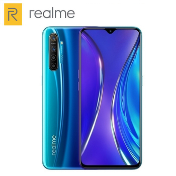 Перейти на Алиэкспресс и купить Смартфон Realme X2, мобильный телефон, 6 ГБ ОЗУ, 64 Гб ПЗУ, Snapdragon 730G, 6,4 дюйма, 4 камеры, 64 мп, 4000 мАч, 30 Вт, NFC, 4G