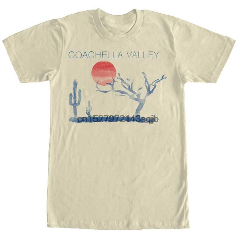 Kehilangan Dewa Coachella Valley Pria Pekerjaan Graphic T Shirt