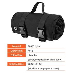 Image 3 - 1000D Tactical Shooting Mat Lightweight Roll Up Camping Mat Non slip Hunting Gun Pad Waterproof Picnic Blanket Hunting Accessory