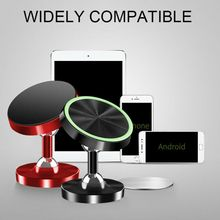Magnetic Car Phone Mount, 360°Rotation Car Dashboard Stand