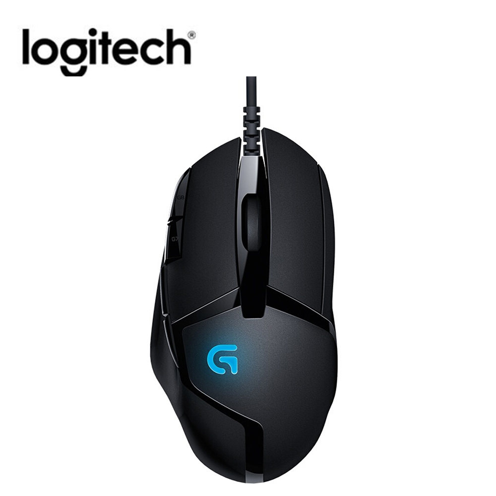 Logitech G402 Hyperion Fury FPS Gaming Mouse 4000 DPI Wired Optical Mouse Professional gaming mice for Windows XP/Vista/7/8/10 image
