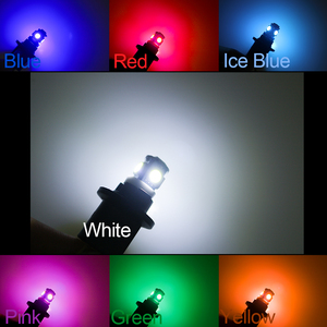 Image 5 - 100PCS 5LED Car Bulb T10 194 W5W 5050 SMD Parking Dome Signal Side lamp trunk White Blue Yellow Light 12V wholesale Dropshiping