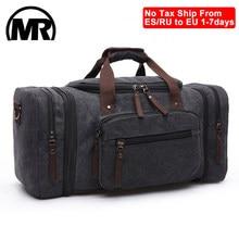 MARKROYAL – sacs de voyage en toile pour hommes, grande capacité, bagage à main, sac de voyage, fourre-tout pour week-end