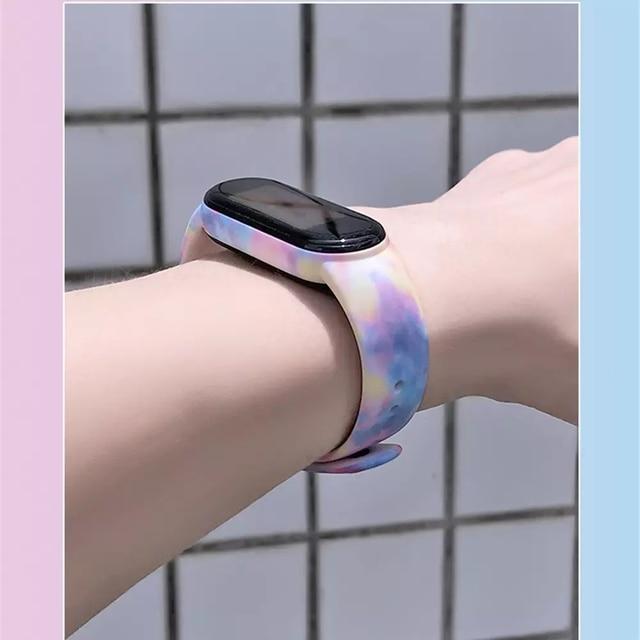 Bracelet For Xiaomi Mi Band 5 6 Band 4/3 Strap Silicone Wristband TPU strap For xiaomi Mi band5 mi band4 bracelet Miband 5 Strap 5