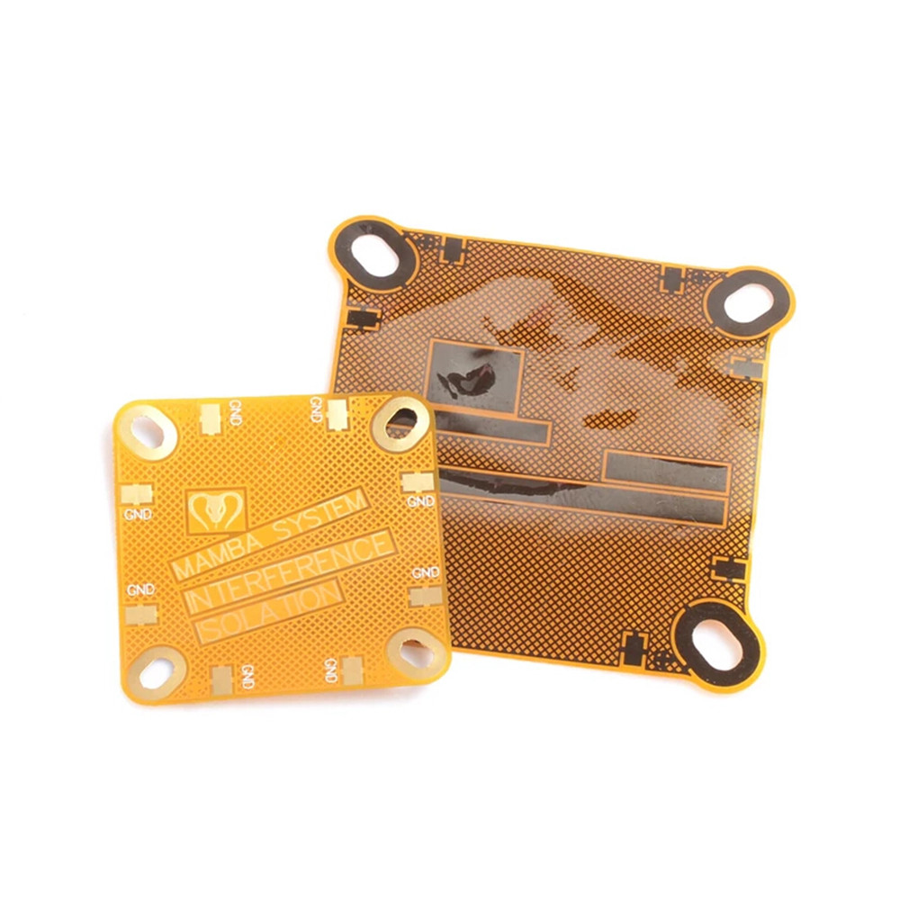 2 PCS Diatone Mamba Interference Shielding FPC Board 20x20mm & 30.5x30.5mm For RC Drone FPV Racing