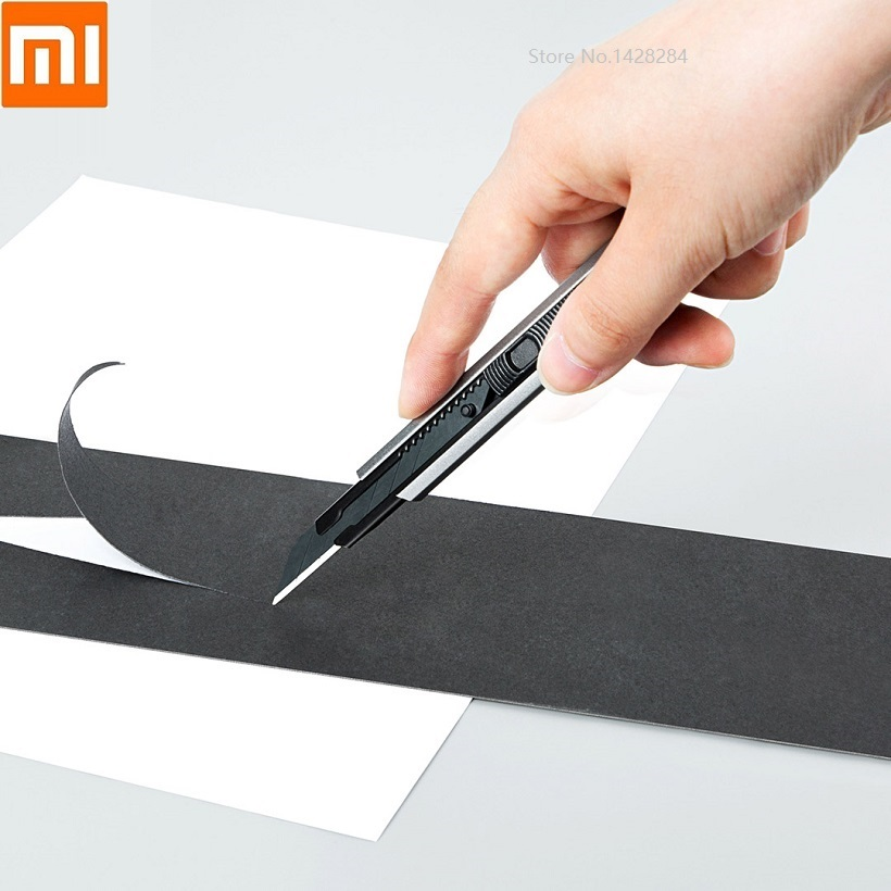 Xiaomi Fizz Utility Knife Letter Openers Utility Knife Paper And Office Knife Cutter Knife Stationery School Tools Paper Cutter