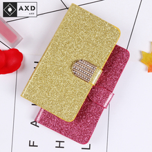 Get more info on the AXD Luxury Glitter Case For Samsung Galaxy S6 S7 Edge Plus +  Flip Book Wallet Design Cover For S8 S9 S10 Plus G975F G965F S10e