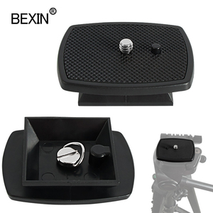Image 1 - Dslr Quick Release Plate Camera Plate Tripod Head Plate Adapter With 1/4 Screw For Yunteng Velbon 690 590 600 Camera Tripod