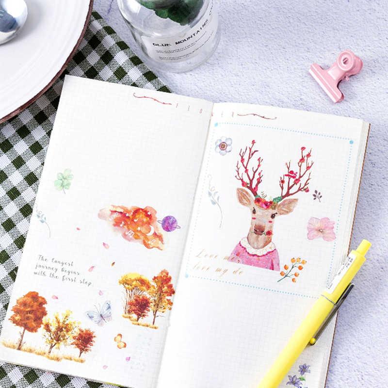36 แพ็ค/Lot Creative Notebook Diary DIY ตกแต่งตกแต่ง Scrapbooking ด้วยตนเอง Photo สติกเกอร์แบนขายส่ง
