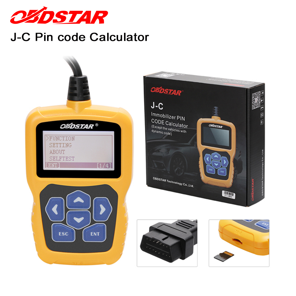 OBDSTAR J C PIN Code Calculator Immobilizer tool No token Limit for Audi/for Chrysler /for Hyundai /for Kia update online-in Car Diagnostic Cables & Connectors from Automobiles & Motorcycles    1