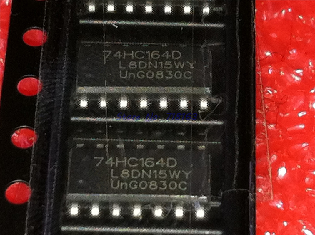US Stock 10pcs SN74HC164N 8bit Serial-In//Parallel-Out Shift Register DIP-14 IC