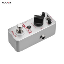 цена на Mooer Sweeper Bass Dynamic envelope filter Effect guitar pedal for bass guitar True Bypass with gold pedal connector MOOER knob