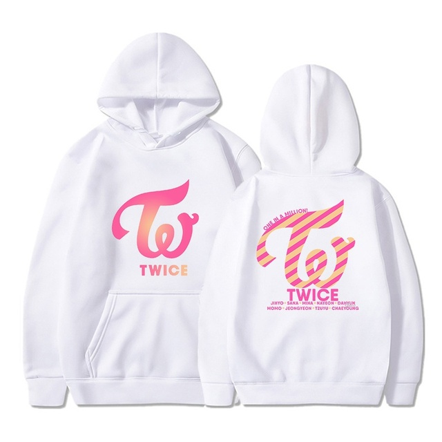 Kpop TWICE Hoodies Sweatshirts Women Men Hoodies Clothes Long Sleeve Hooded Pullover Tops Sweatshirt Streetwear Tracksuit Male 5