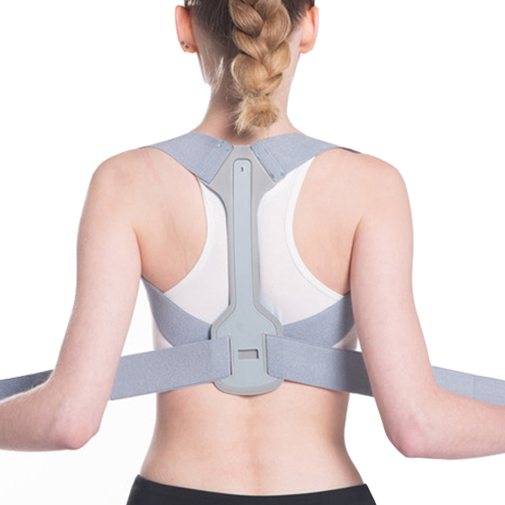 Posture Back Corrector Clavicle Spine Back Shoulder Support Belt Back Pain Relief Posture Correction Prevents Slouching Unisex