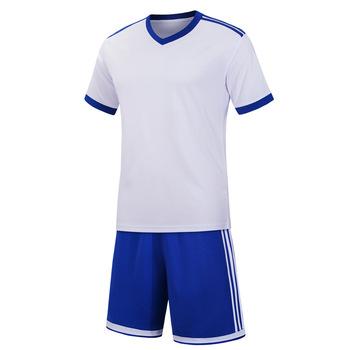 Soccer Jersey Sports Costumes for Kids Clothes Football Kits for Girls Summer Children #8217 s Suits Boys Clothing Boys Sets Uniforms tanie i dobre opinie CINESSD Bawełny Poliestru Mikrofibry Pasuje prawda na wymiar weź swój normalny rozmiar