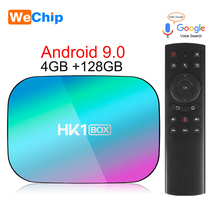 4GB RAM 128GB ROM Smart TV Box Android 9.0 Amlogic S905X3 10