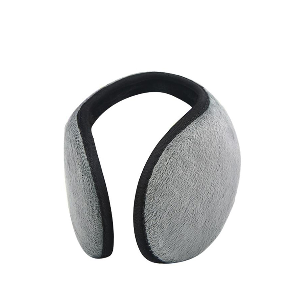 Solid Color Winter Earmuffs Women Men Ear Cover Protector Thicken Warm