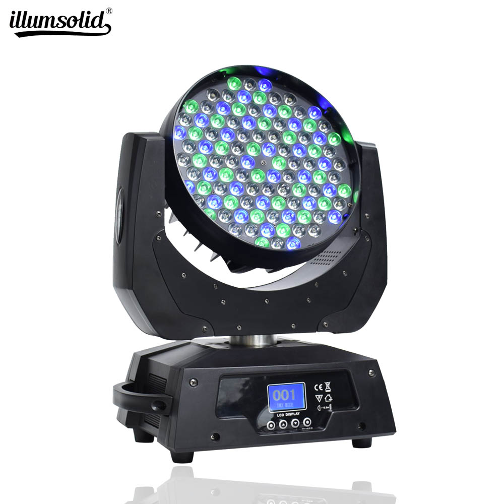 Moving Head Stage Lights Led Dj Light Wash Effect 108x3w RGBW 4 Color Leds Device Stage Led Beam Lights Dmx512 For Club Disco