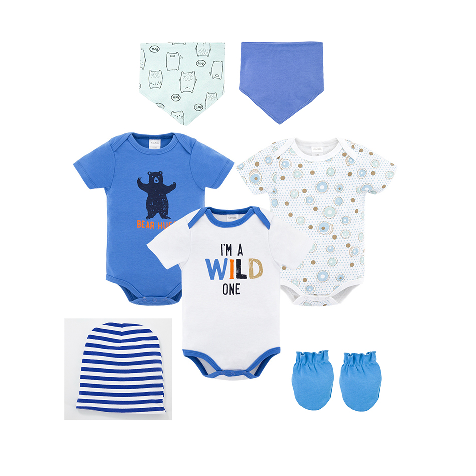 0-24M kavkas Baby//Infant//Toddler Long Sleeve Onesies for Boys and Girls Soft Cotton Baby Undershirts 3 Pack Solid Bodysuits