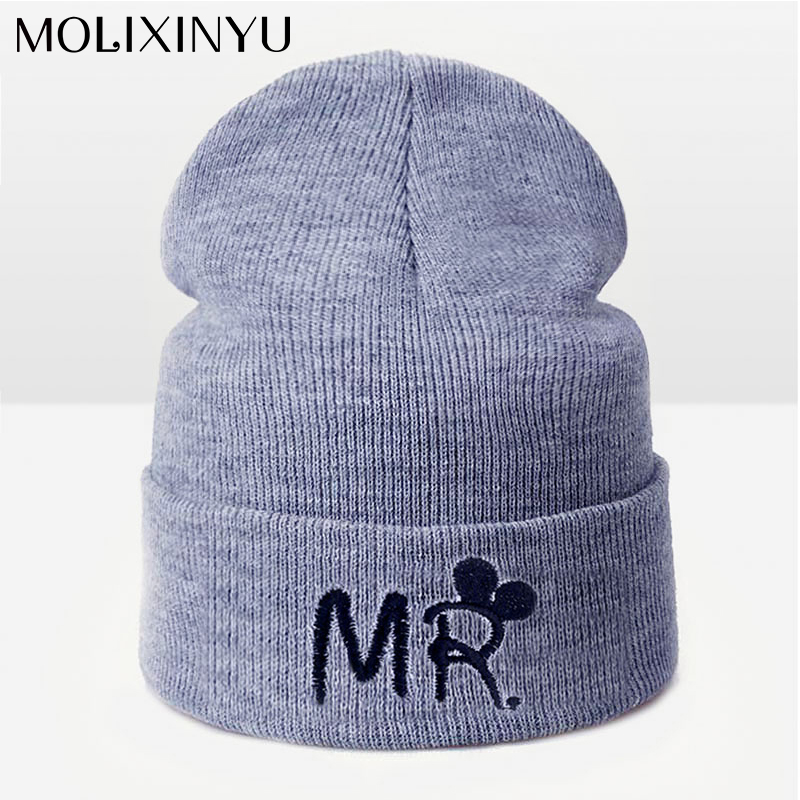 MOLIXINYU 2019 New Arrive Fashion Children Hat For Girls Winter Baby Hat For Boys Hats Warm Knitted Baby Cap For Girls Cap