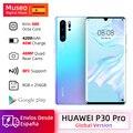 Globale Version Huawei P30 Pro 8GB 256GB Kirin 980 Octa Core Smartphone 50x Digital Zoom Quad Kamera 6.47 ''volle Bildschirm OLED NFC