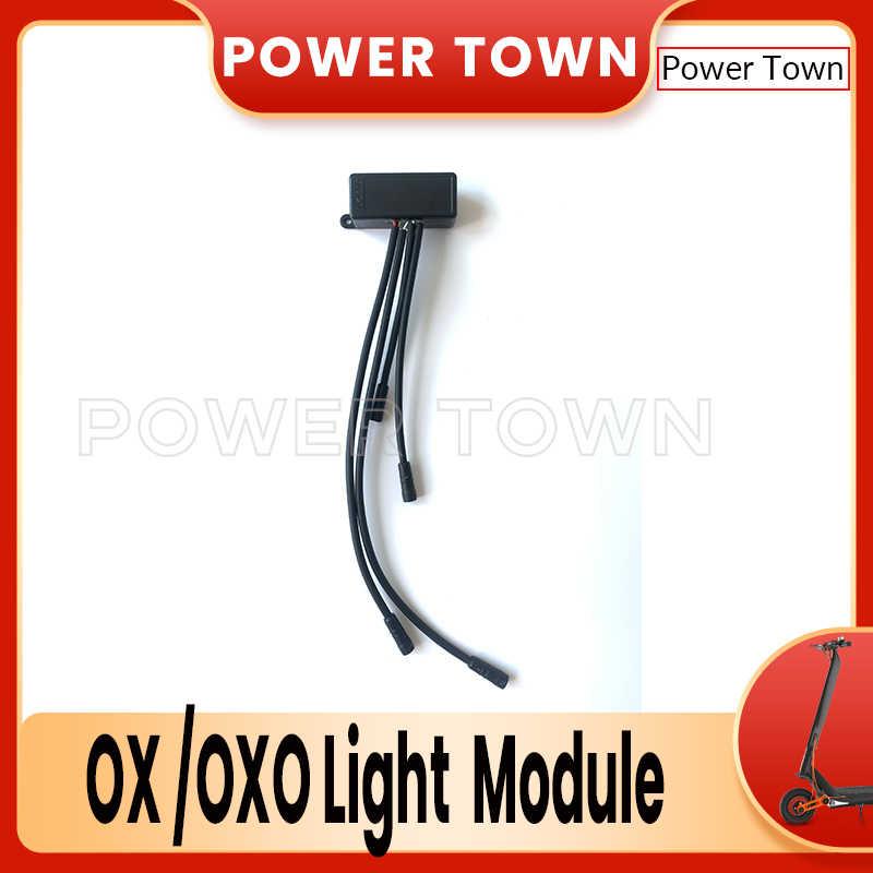Оригинальный оксо-Ox аксессуары для электрического скутера спереди головной светильник Задний фонарь тормоза светильник тормозной сзади светильник