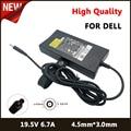 19,5 V 6.7A 4,5*3,0 мм адаптер переменного тока зарядное устройство для Dell XPS 14 XPS 15 9530 точность M6300 Ispiron15 7000 7557 источник питания
