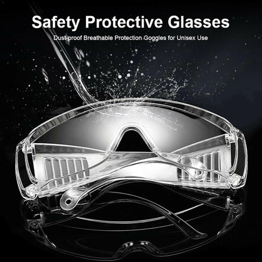 Protective Glasses Anti-dust Work Eye Anti-impact Outdoor Safety Lab Spectacles Lightweight Glasses Goggles P5U1