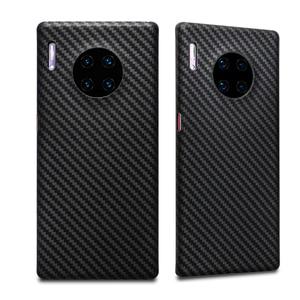 Image 2 - Luxuoso caso de fibra carbono para huawei companheiro 30 pro caso matte capa para huawei companheiro 30 companheiro caso do telefone ultra fino capa coque