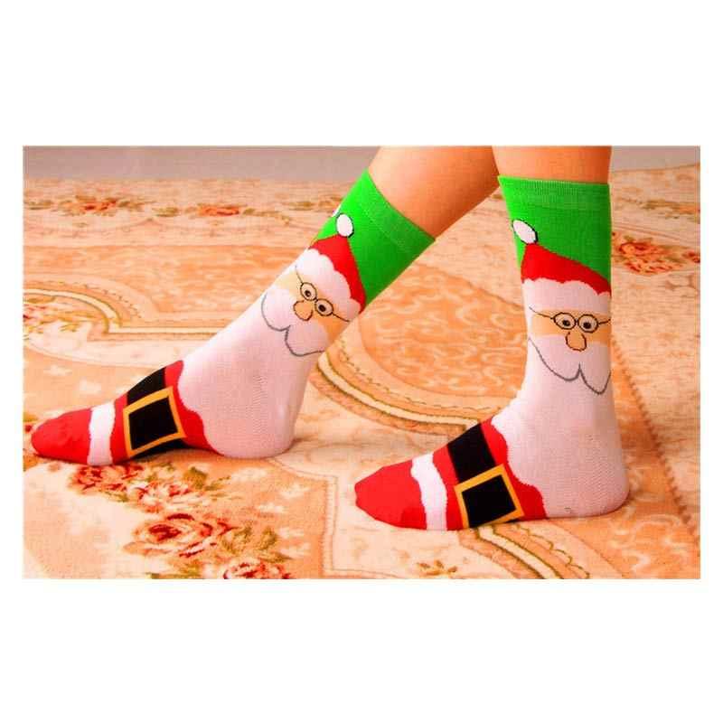 Mulheres cartton meias de inverno engraçado bonito meias de natal pé personalidade meias harajuku moda legal