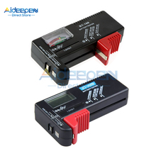 Uniwersalny BT168D LED/wskaźnik cyfrowy akumulator Tester pojemności Tester baterii dla 9V 1.5V AA AAA Cell