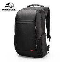 KINGSONS 2019 New Item 13.3 15.6 17.3 inch Laptop Backpack Waterproof Men Women Fashion Backpack For Business Travel School Bags