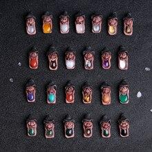 Miền Bắc Châu Âu Ấn Độ Tinh Thần Mặt Dây Chuyền Năng Lượng Pha Lê Luồn Chữ Rune Thần Tiên 25 Có Bóng Chiêm Tinh Học Tinh Thần Bài Tarot