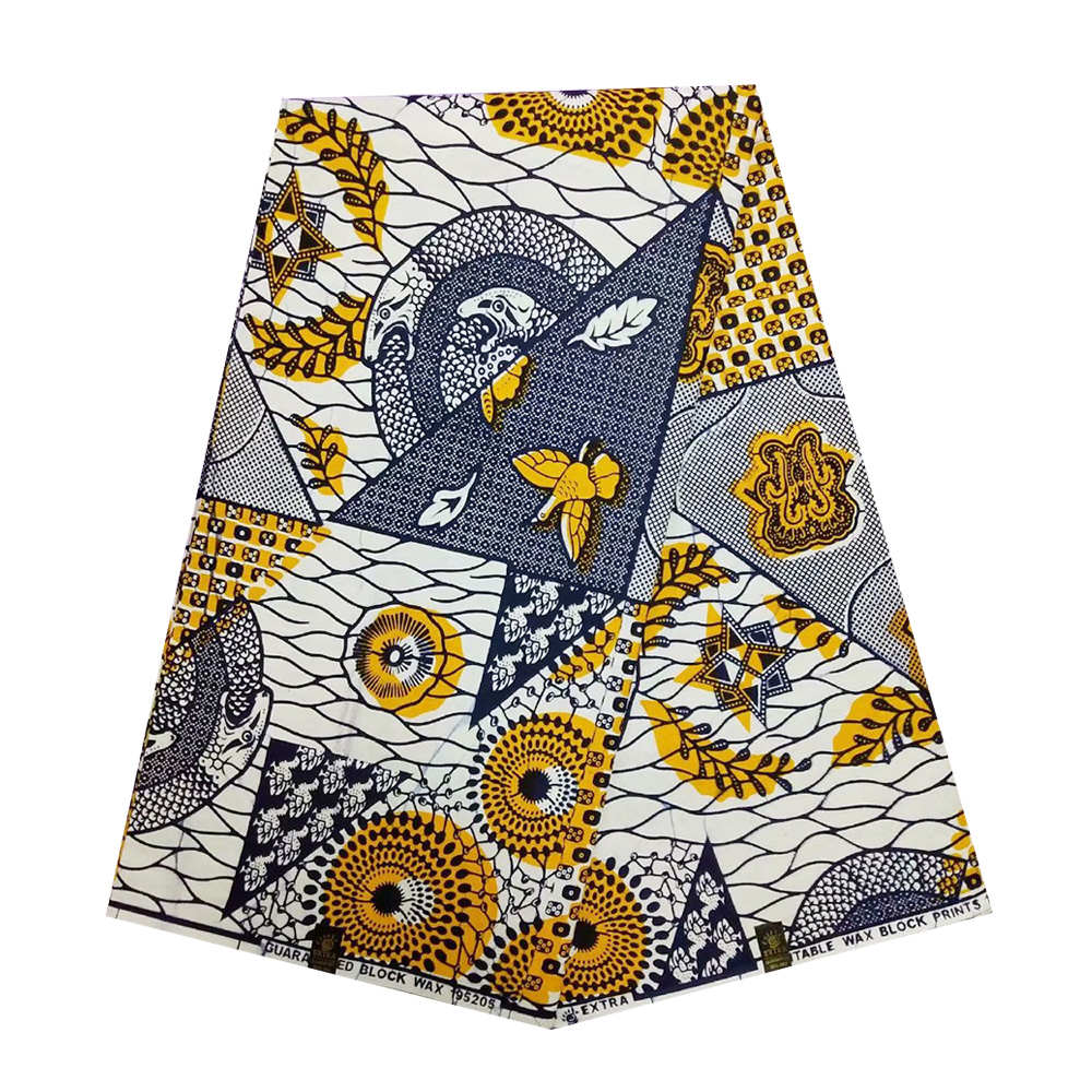 Tissu African Wax Patchwork Material Ghana Ankara Nigerian Real Wax Fabrics 2019 100% Cotton High Quality Pange Wax Nederlands