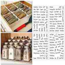 8 folhas etiquetas transparente à prova dwaterproof água despensa adesivos suprimentos para despensa comida cozinha especiarias adesivos frasco b5k9