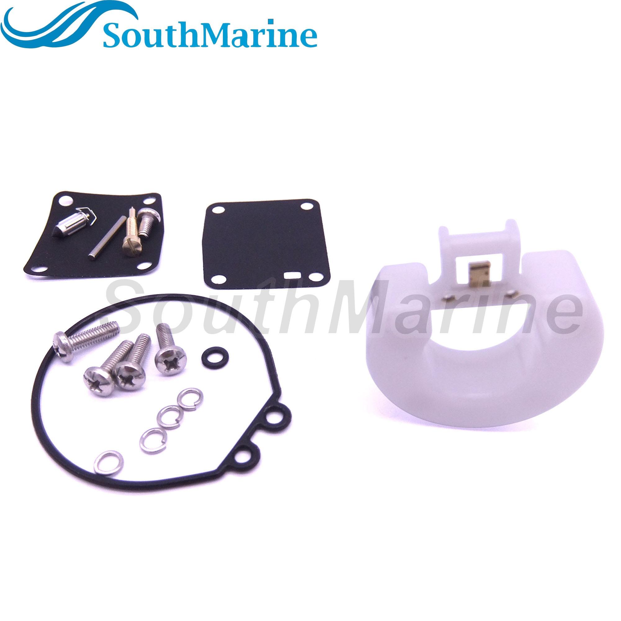 Boat Motor Carburetor Repair Kit 6G1-W0093-00-00 18-7765 For Yamaha 3HP 6HP 8HP 6CMH 6DMH 8CMH Outboard Engine
