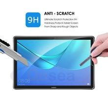 Vidro temperado tablet para huawei mediapad m6 10.8 Polegada tablet resistente a riscos polegada protegido o filme de vidro