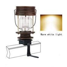 Открытый Солнечный Ретро подвесные светильники Светодиодный светильник для сада тропинки двора 2 шт. Декор